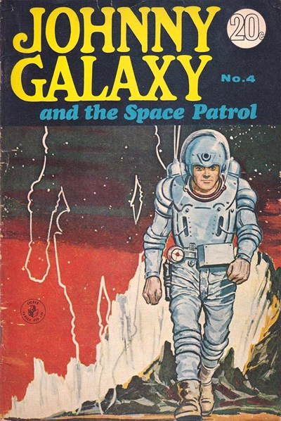 Johnny Galaxy and the Space Patrol (Sport Magazine, 1968 series) #4 ([May 1968?])