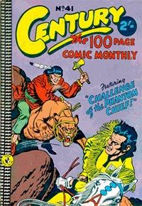 Century the 100 Page Comic Monthly (Colour Comics, 1956 series) #41 — No title recorded