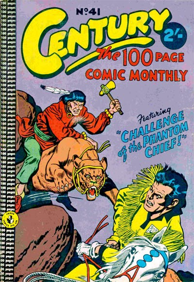 Century the 100 Page Comic Monthly (Colour Comics, 1956 series) #41 ([October 1959?])