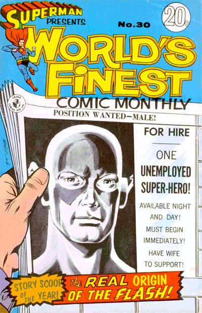 Superman Presents World's Finest Comic Monthly (Colour Comics, 1965 series) #30 ([October 1967?])