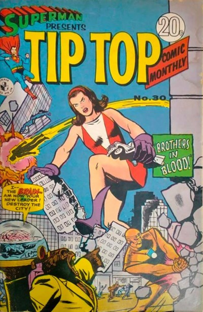 Superman Presents Tip Top Comic Monthly (Colour Comics, 1965 series) #30 ([October 1967?])