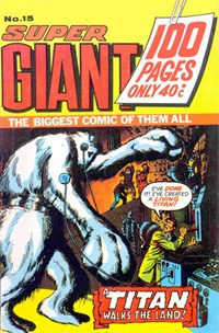 Super Giant (KG Murray, 1974 series) #15 ([May 1975?])