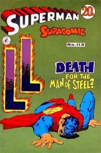 Superman Supacomic (Colour Comics, 1959 series) #113 — No title recorded