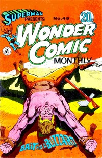 Superman Presents Wonder Comic Monthly (Colour Comics, 1965 series) #49 ([May 1969?])