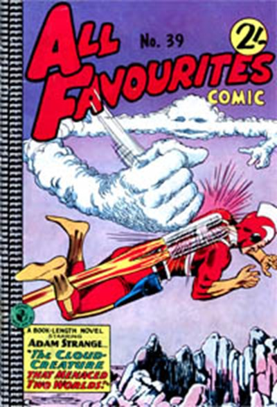 All Favourites Comic (Colour Comics, 1960 series) #39 ([October 1963?])