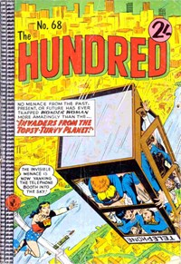 The Hundred Comic (Colour Comics, 1961 series) #68 — Invaders of the Topsy-Turvy Planet!