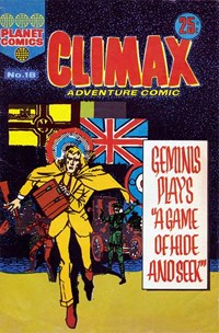 Climax Adventure Comic (KG Murray, 1974 series) #18