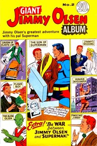 Giant Jimmy Olsen Album (Colour Comics, 1966 series) #2 ([September 1967?])