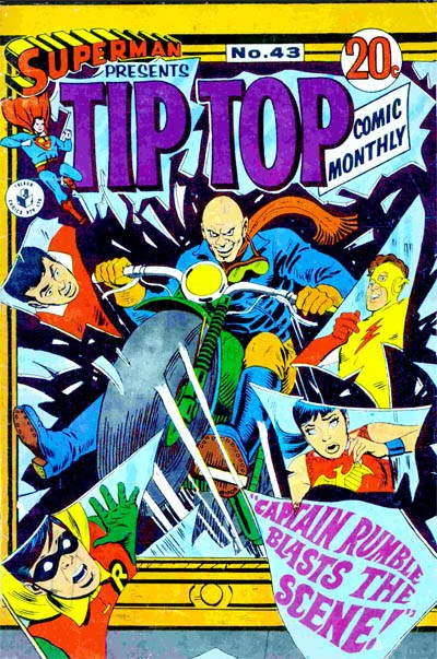 Superman Presents Tip Top Comic Monthly (Colour Comics, 1965 series) #43 ([November 1968?])
