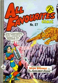 All Favourites Comic (Colour Comics, 1960 series) #27 — No title recorded