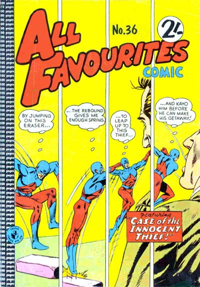 All Favourites Comic (Colour Comics, 1960 series) #36 ([April 1963?])