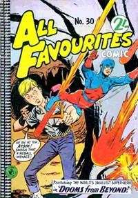 All Favourites Comic (Colour Comics, 1960 series) #30 — Dooms from Beyond!