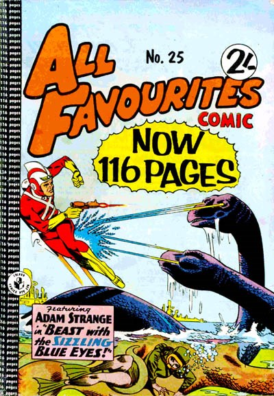 All Favourites Comic (Colour Comics, 1960 series) #25 ([June 1961?])