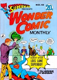 Superman Presents Wonder Comic Monthly (Colour Comics, 1965 series) #10 ([February 1966?])