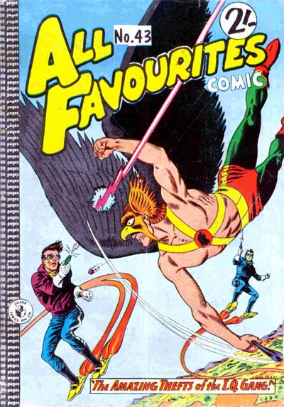 All Favourites Comic (Colour Comics, 1960 series) #43 ([July 1964?])