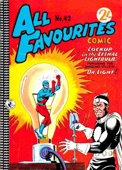 All Favourites Comic (Colour Comics, 1960 series) #42 ([April 1964?])