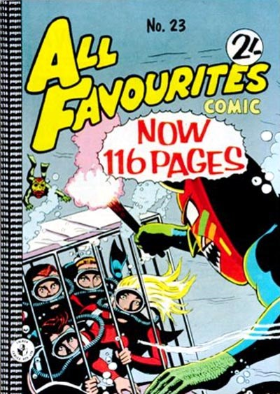 All Favourites Comic (Colour Comics, 1960 series) #23 ([February 1961?])