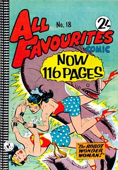 All Favourites Comic (Colour Comics, 1960 series) #18 ([May 1960?])