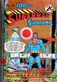Superman Supacomic (Colour Comics, 1959 series) #51 — Captive of the Red Sun