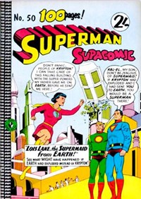 Superman Supacomic (Colour Comics, 1959 series) #50 — No title recorded