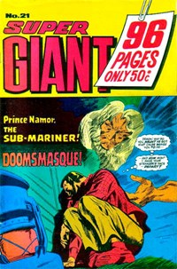 Super Giant (KG Murray, 1974 series) #21 ([May 1976?])