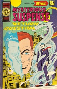 Planet Series 1 (Murray, 1977 series) #1 ([September 1977?]) —Mysterious Suspense