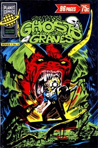 Planet Series 1 (Murray, 1977 series) #8 ([April 1978?]) —The Many Ghosts of Doctor Graves