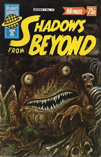 Planet Series 1 (Murray, 1977 series) #11 ([July 1978]) —Shadows from Beyond