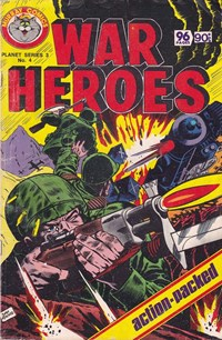 Planet Series 3 (Murray, 1980 series) #4 ([April 1980?]) —War Heroes