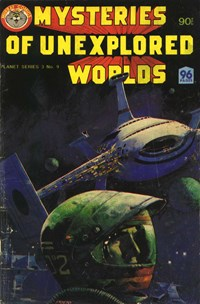 Planet Series 3 (Murray, 1980 series) #9 ([September 1980?]) —Mysteries of Unexplained Worlds