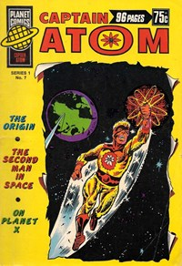 Planet Series 1 (Murray, 1977 series) #7 ([March 1978?]) —Captain Atom