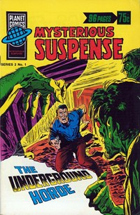 Planet Series 2 (Murray, 1979 series) #1 ([April 1979]) —Mysterious Suspense