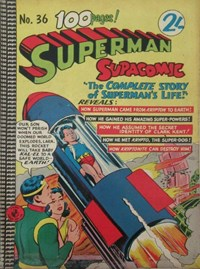 Superman Supacomic (Colour Comics, 1959 series) #36 — No title recorded