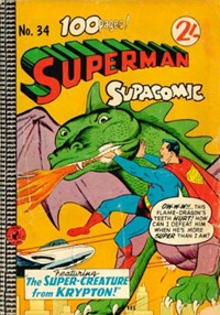 Superman Supacomic (Colour Comics, 1959 series) #34 — No title recorded