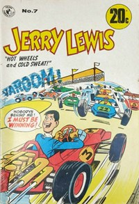 Jerry Lewis (Colour Comics, 1971 series) #7