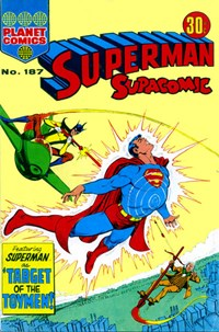 Superman Supacomic (KG Murray, 1974 series) #187