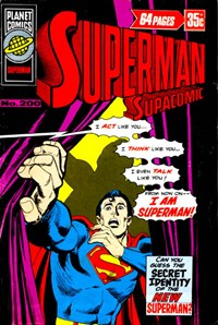 Superman Supacomic (KG Murray, 1974 series) #200