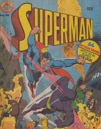 Superman (Murray, 1978 series) #18 ([January 1981?])