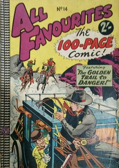 All Favourites, The 100-Page Comic (Colour Comics, 1958 series) #14 ([July 1959?])