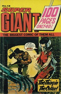 Super Giant (KG Murray, 1974 series) #13 ([January 1975?])
