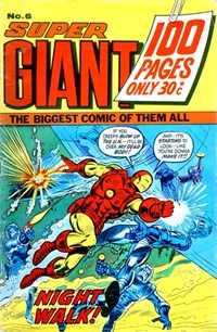 Super Giant (Sport Magazine, 1973 series) #6 ([November 1973?])