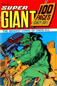 Super Giant (Sport Magazine, 1973 series) #4 ([July 1973?])