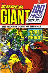 Super Giant (Sport Magazine, 1973 series) #3 ([May 1973?])