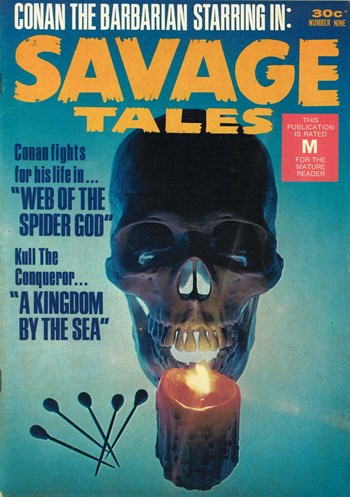 Savage Tales (KG Murray, 1972 series) #9  ([December 1975?])