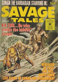 Page 1—Savage Tales (KG Murray, 1972 series) #11  ([June 1976?])