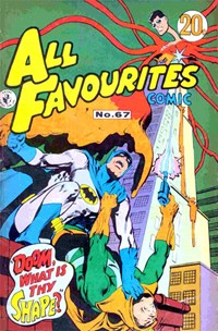 All Favourites Comic (Colour Comics, 1960 series) #67 — No title recorded