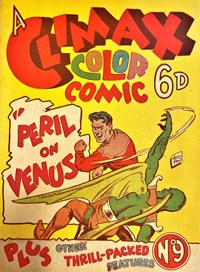 A Climax Color Comic (KGM, 1948 series) #9 — Peril on Venus