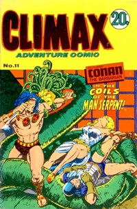 Climax Adventure Comic (Sport Magazine, 1968 series) #11 — The Coils of the Man-Serpent!