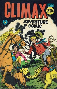 Climax Adventure Comic (Sport Magazine, 1968 series) #7 — Untitled (Cover)