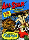 All Star Adventure Comic (Colour Comics, 1960 series) #12 ([November 1961?])